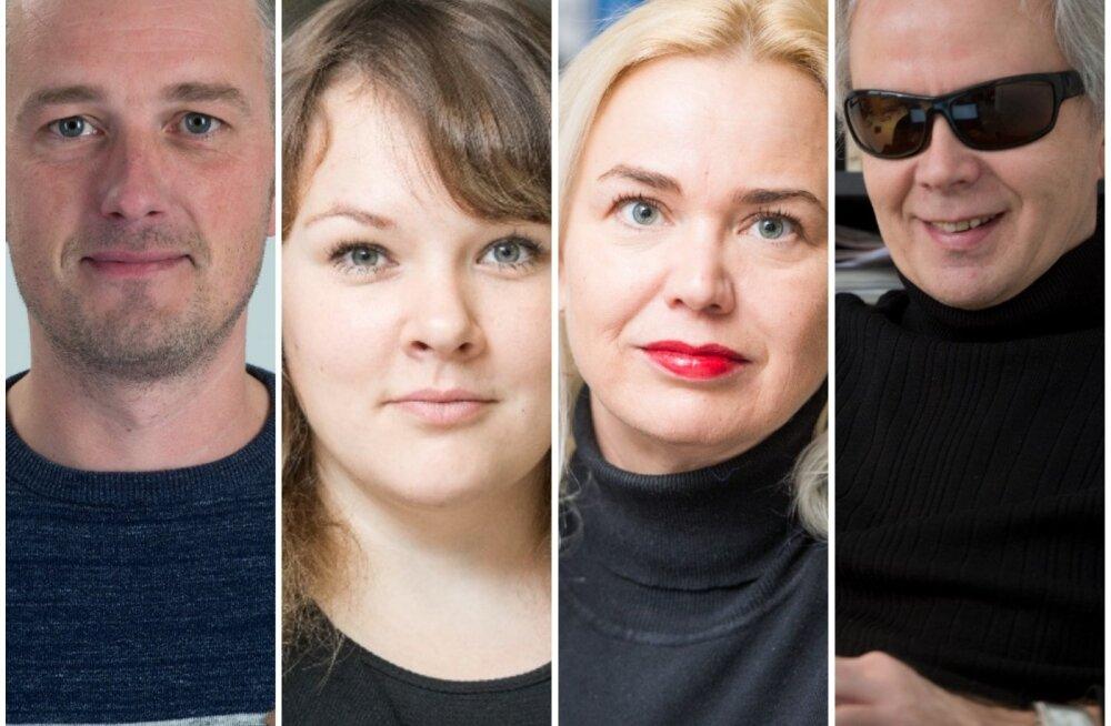 Ajakirjanduspreemiate nominentide seas on enim Delfi, Eesti Päevalehe ja Eesti Ekspressi ajakirjanikke