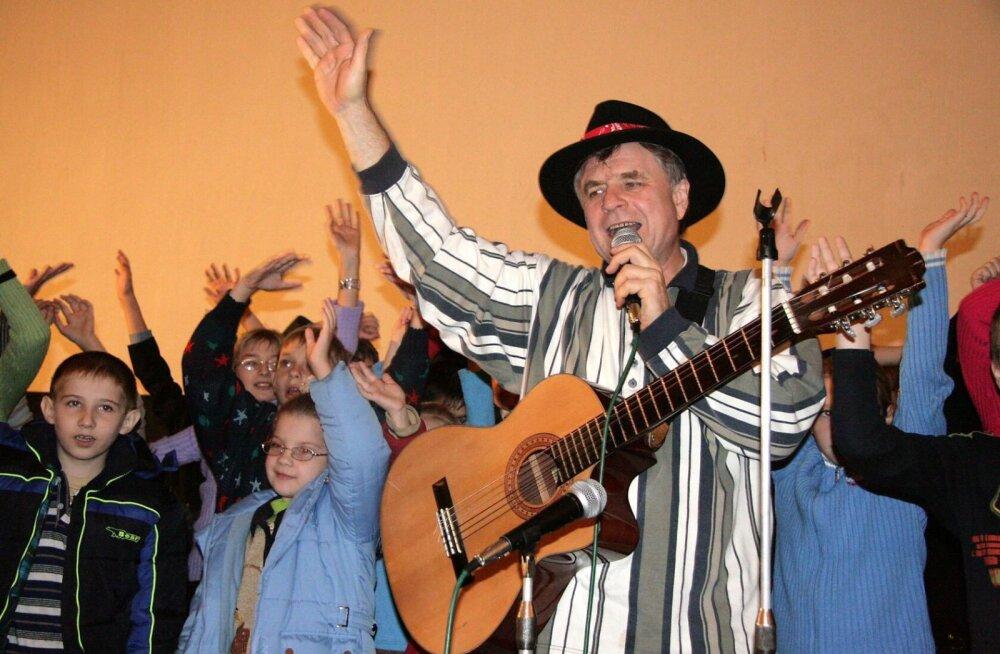 В Таллинне выступит знаменитый автор детских песен Григорий Гладков