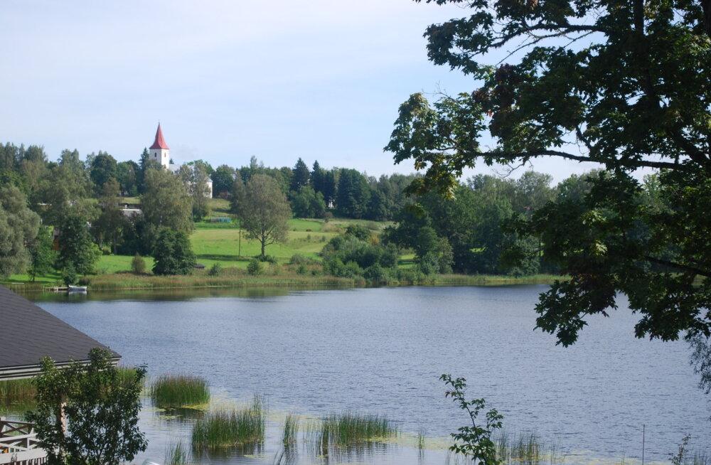 Рыуге-Сууръярв — глубочайшее озеро Эстонии