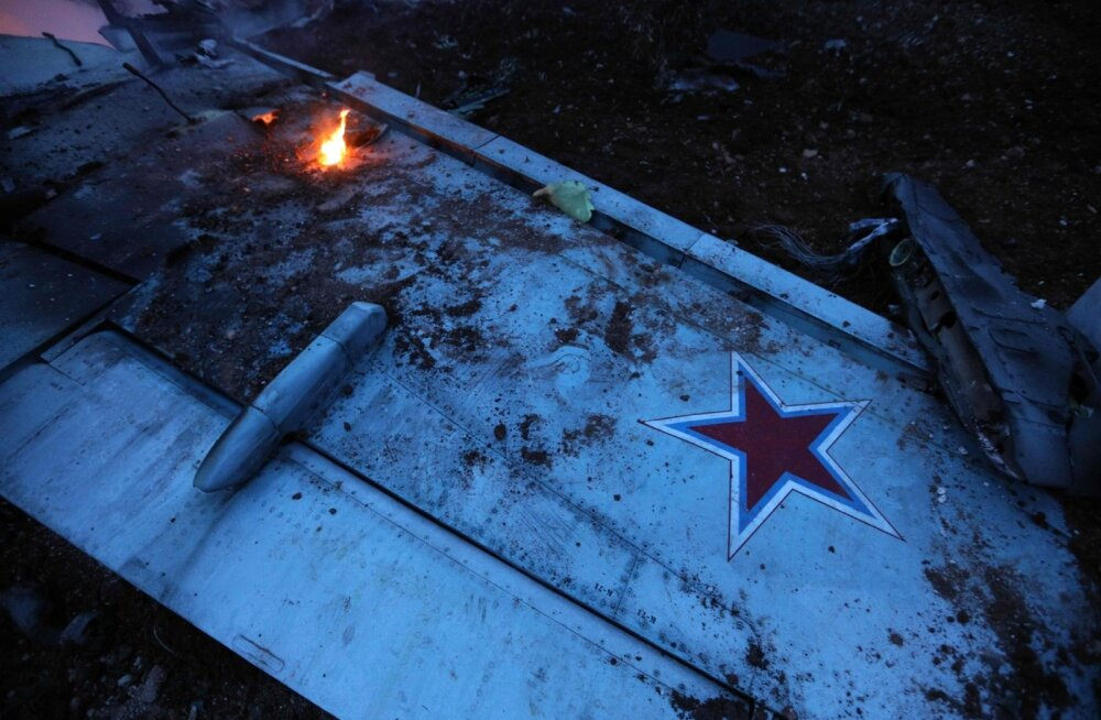 Allatulistatud Vene lennuk