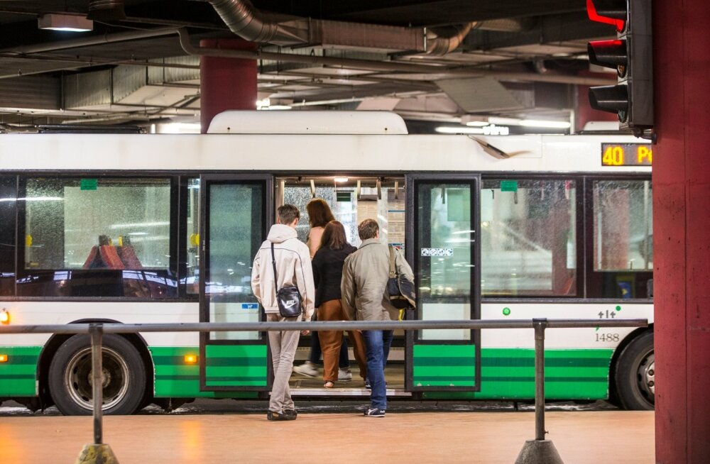 Viru bussiterminal pärast remonti