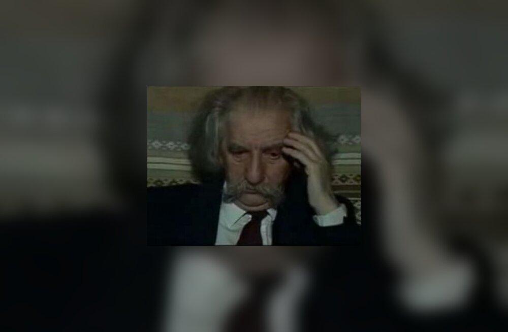 В Тарту открыли мемориальную доску Юрия Лотмана