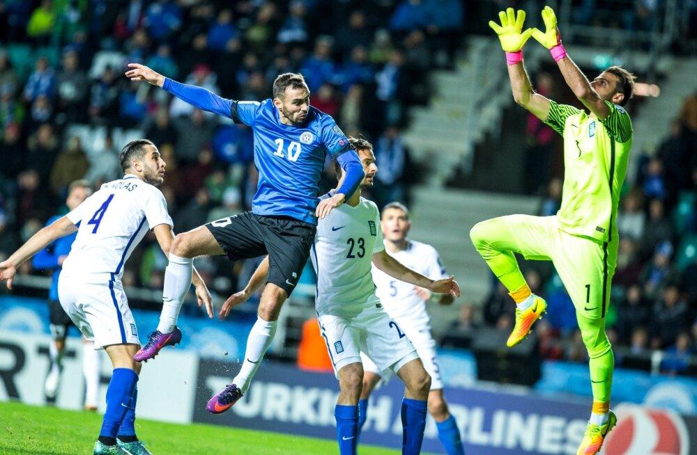 Eesti vs Kreeka jalgpall