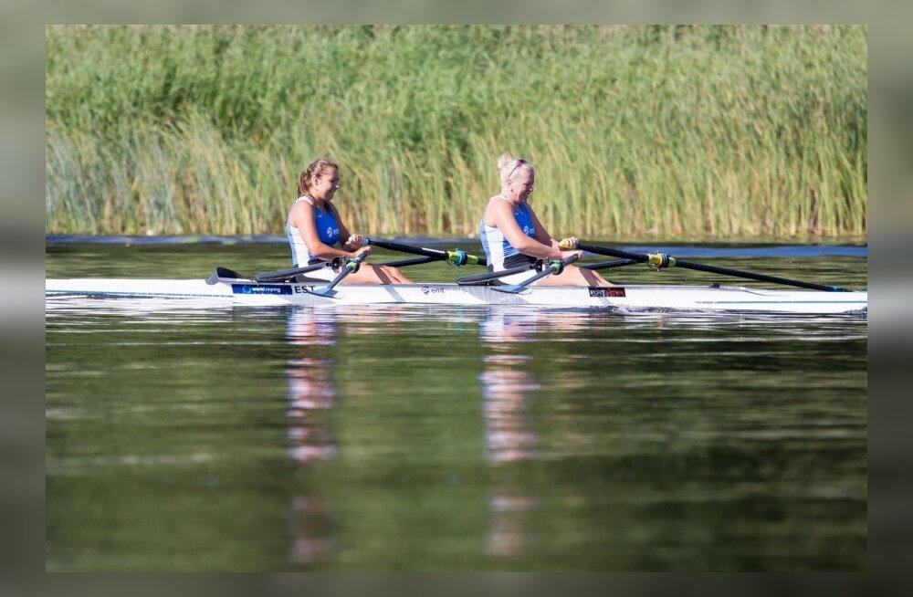 Sõudmine Pärnu jõel 02.08.2014