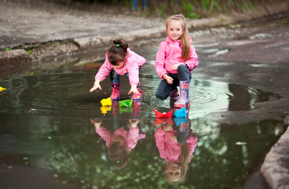 Miks lapsed võiksid iga ilmaga õues mängida