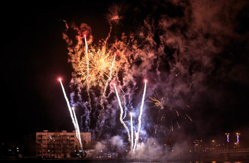 Uusaasta ilutulestik Pärnus 2018