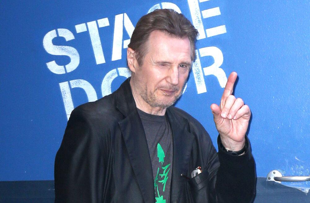 Inimesed soovivad, et rassistliku väljaütlemisega esinenud Neeson uuest filmist välja lõigataks