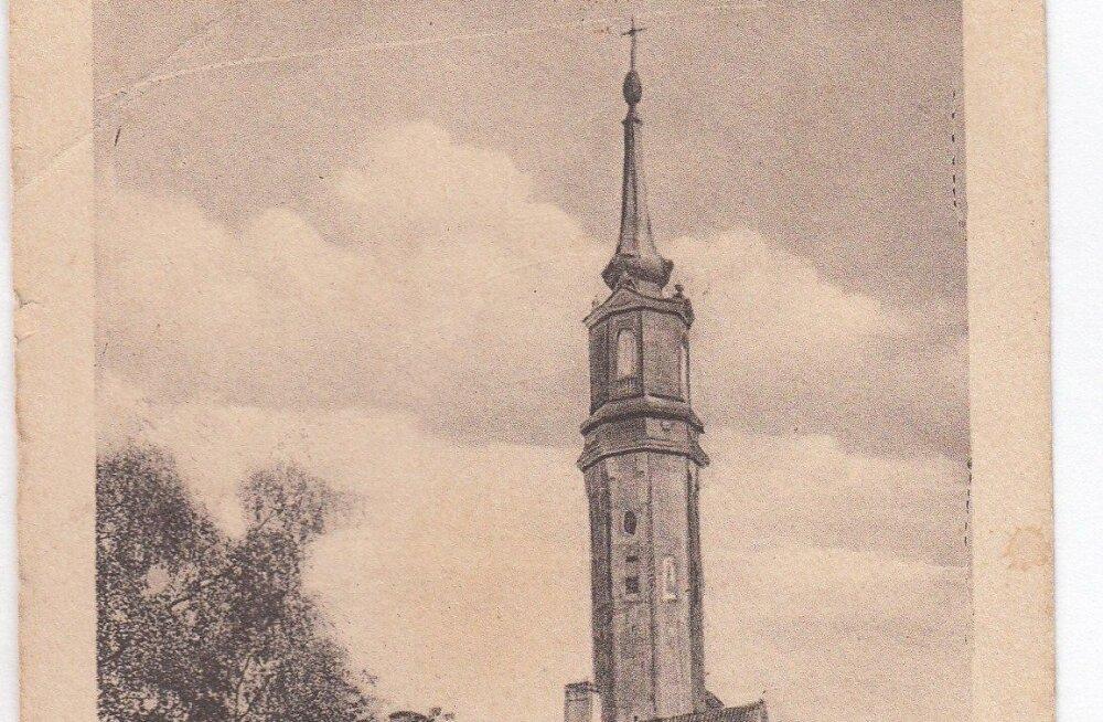 Jaak Juskega kadunud Eestit avastamas: sõjas purustatud Narva Jaani kiriku mitme nime lugu