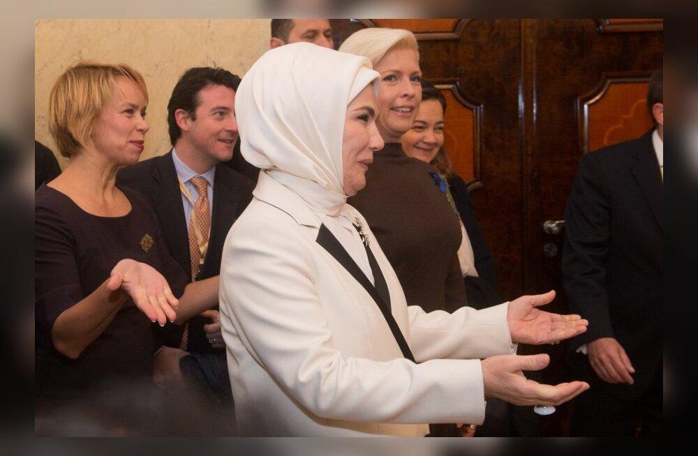 Türgi presidendipaari visiit