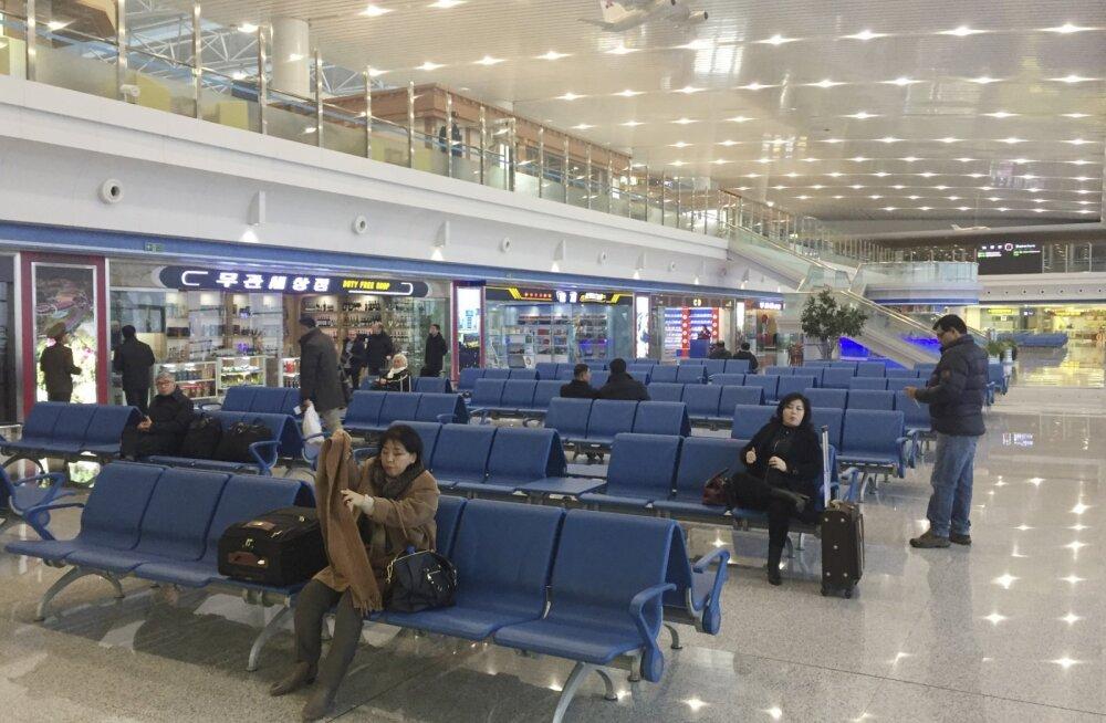 Põhja-Korea suurimas lennujaamas seati sisse WiFi - vähemalt näiliselt