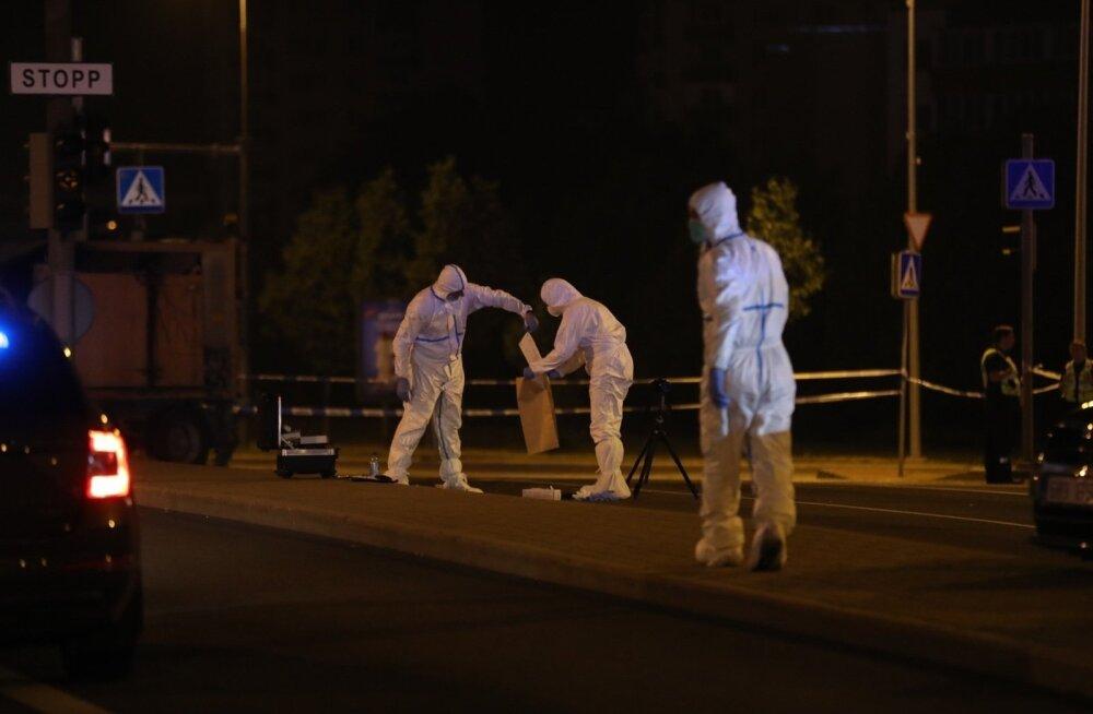 Велосипедист, проехавший через полицейскую ленту на месте стрельбы на Мустакиви, провел ночь в камере