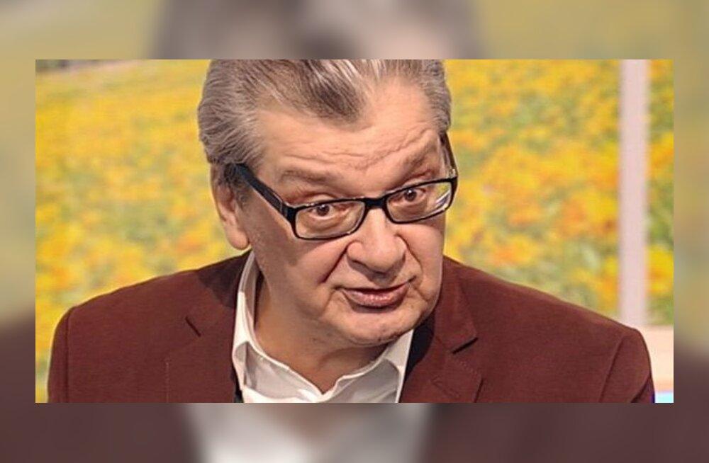 Больной раком Александр Беляев сильно похудел после операции