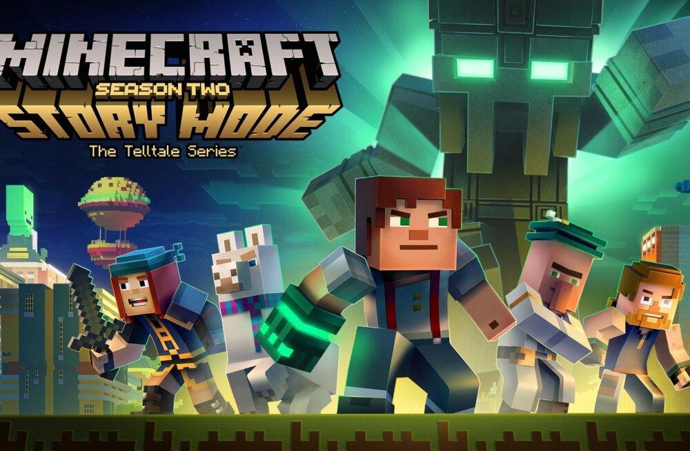 10-16. juuli: uusi videomänge – algab Minecrafti lugude teine hooaeg!