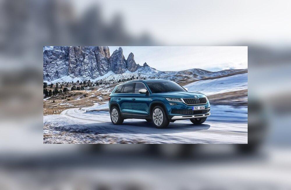 "Škoda esitleb Genfis ""Almighty't"" ehk maastikuvallutajast Kodiaq Scouti"