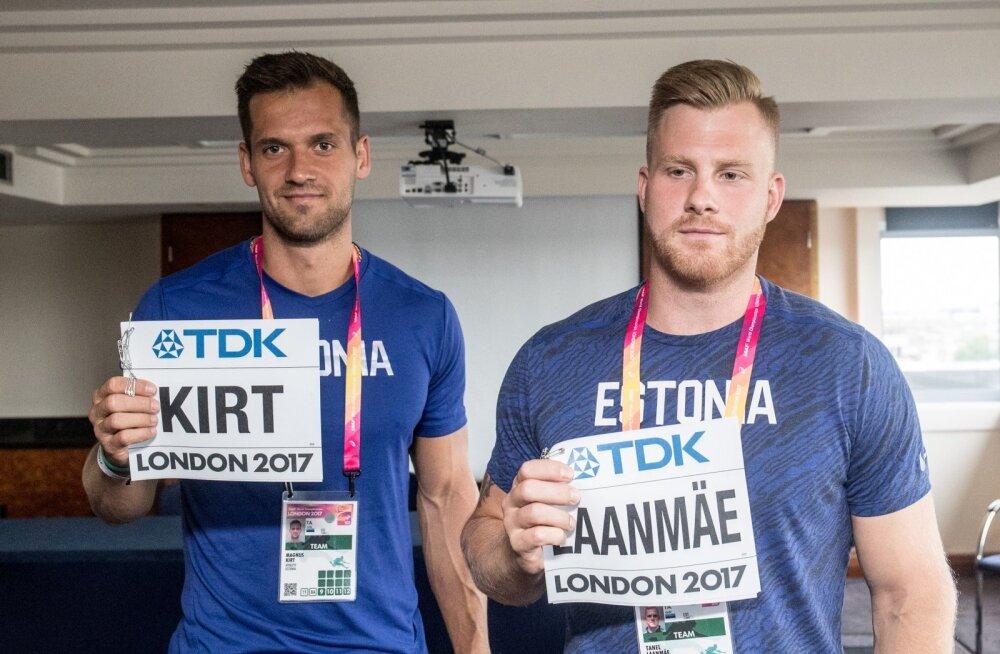 Magnus Kirt ja Tanel Laanmäe on seadnud selge sihi jõudmaks MMil lõppvõistlusele.