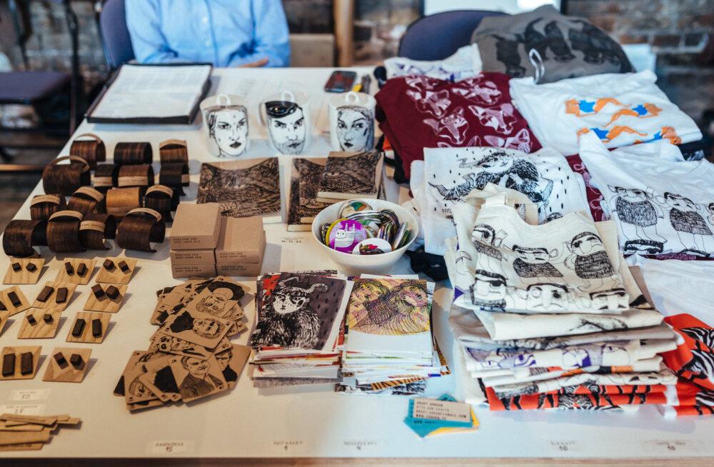 Jõulueelsed disainiturud annavad ülevaate Eesti disainerite loomingust