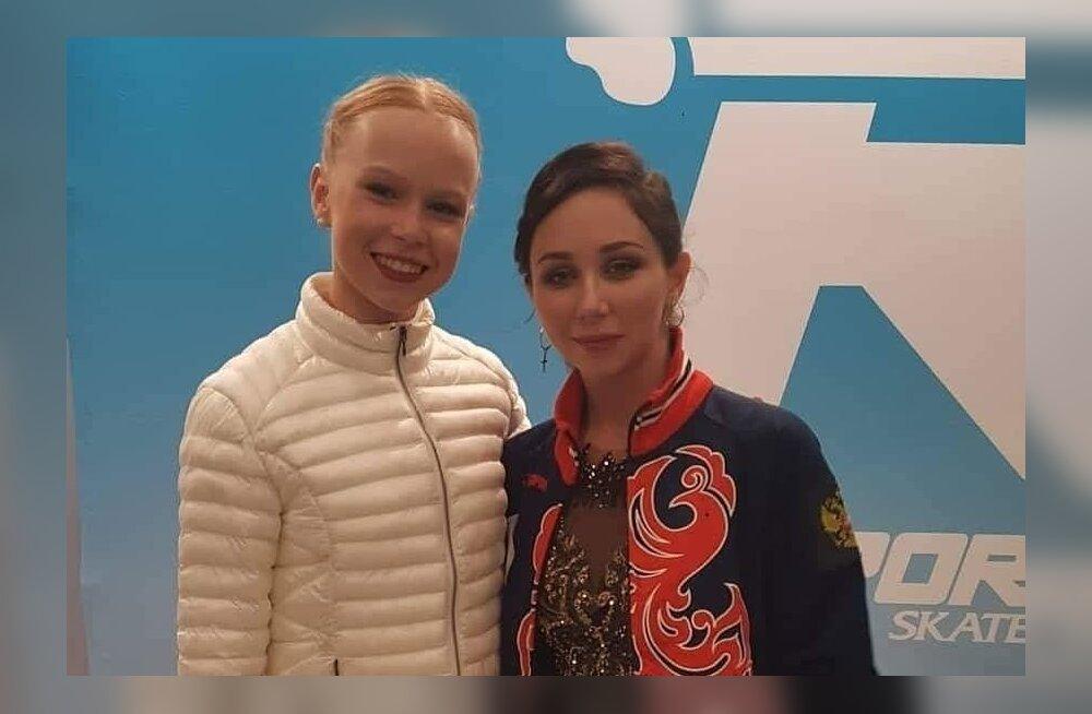 Eva-Lotta Kiibus ja Elizaveta Tuktamysheva