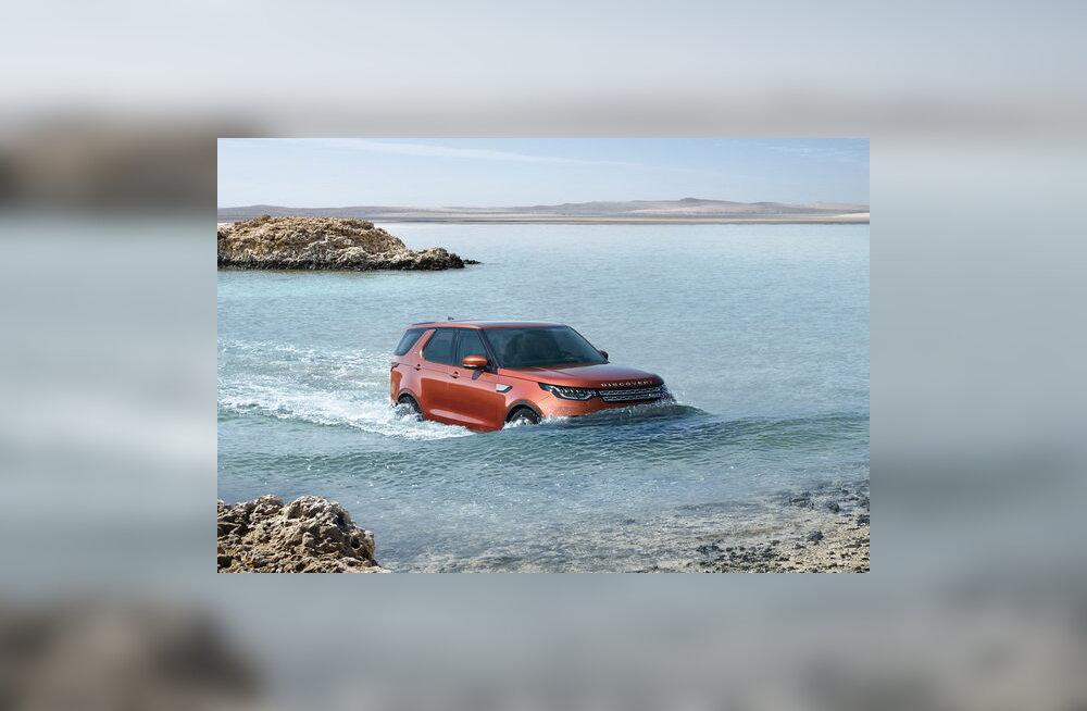 Land Rover Discovery: lugu sellest, kuidas noorem vend vanema narriks teeb