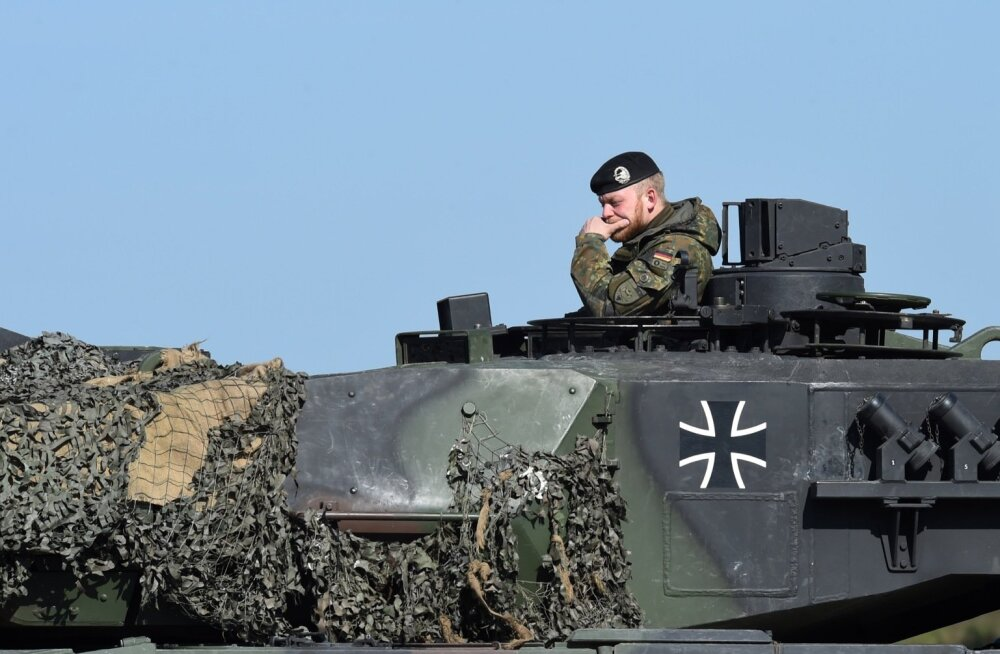 Peaaegu pooled saksa Leopard tankidest on praegu kasutamiskõlbmatud.