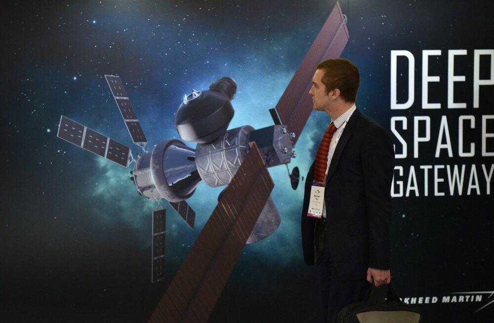 Adelaide'is 68. rahvusvahelisel astronautikakongressil tutvustati ka uut plaanitavat kosmosejaama (DSG).
