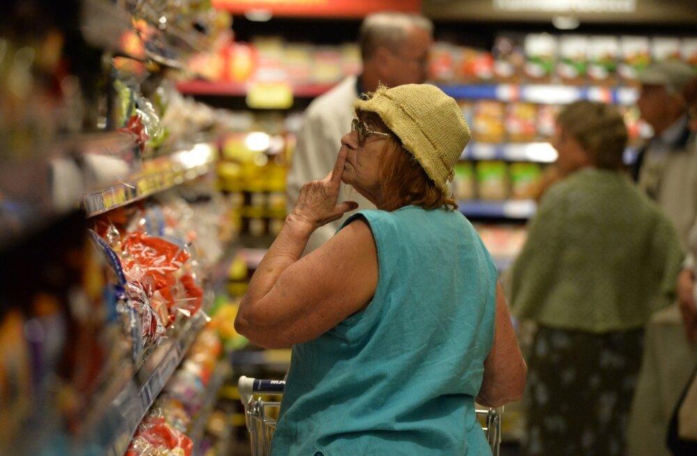 Toidukaupade kallinemine paneb tarbija tähelepanelikumalt poes hindu uurima.