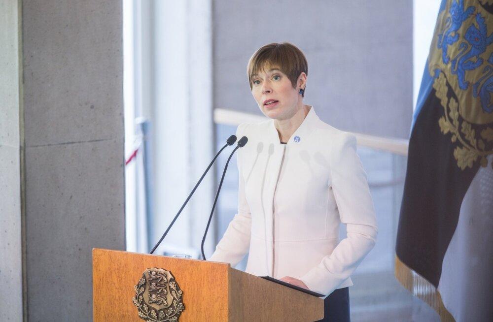 President Kaljulaid alustab täna tööd Narvas