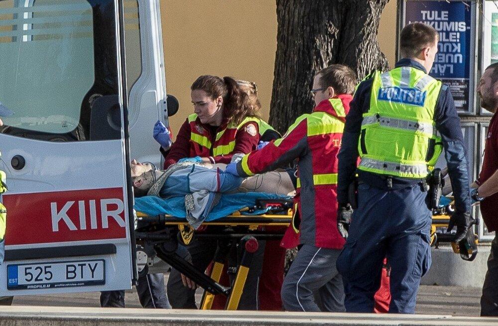 Rindu kuulitabamuse saanud Jaanus Käärmann toimetati ruttu haiglasse, kuid tema elu ei õnnestunud päästa.