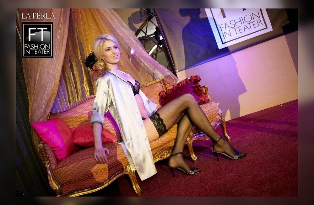 ФОТО: Показ белья La Perla в клубе Teater