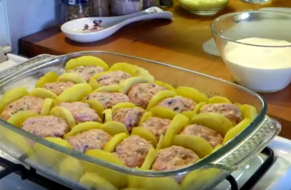 ARVO KOKAKOOL | Kalkunihakkliha-kartuli vormiroog