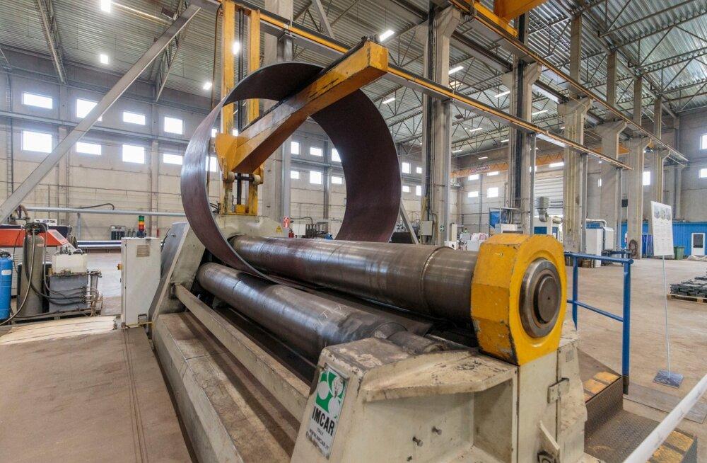 BLRT Grupi ettevõtte ELME Matall, metallitööstuse ja teeninduskeskuse pidulikavamine