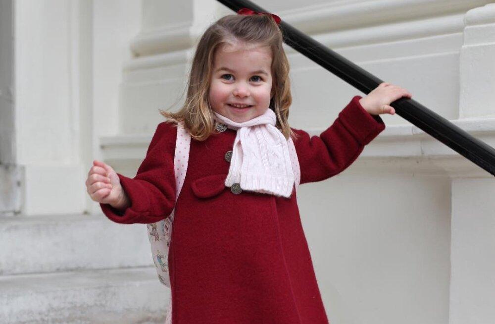 ФОТО: Кейт Миддлтон отвела дочь в школу. Сколько стоит обучение британской принцессы