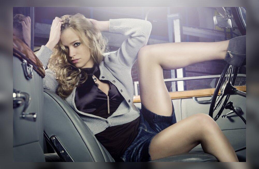 Сексуальные фантазии в авто