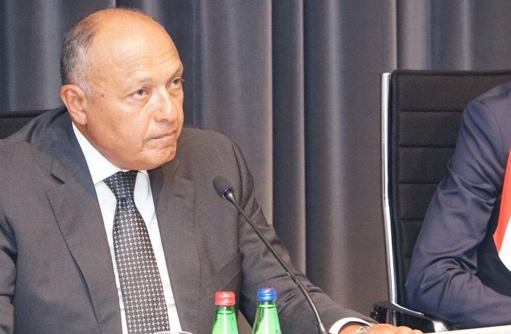 Egiptuse välisminister Sameh Hassan Shoukry