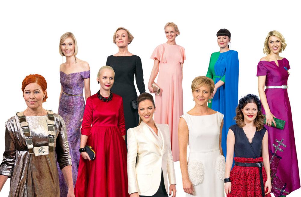 SUUR RETROGALERII: 120 unustamatut kleiti presidendi vastuvõttudelt läbi aegade