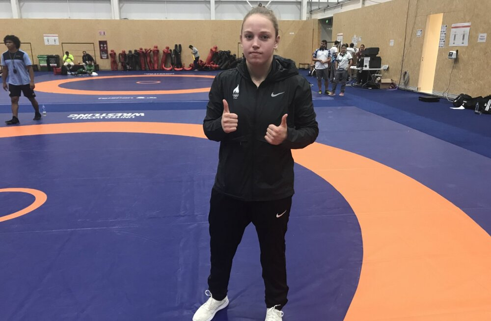 Päev noorte OM-il: maadleja Viktoria Vesso võitis viienda koha, Eerik Haamer püstitas Eesti U18 rekordi teivashüppes