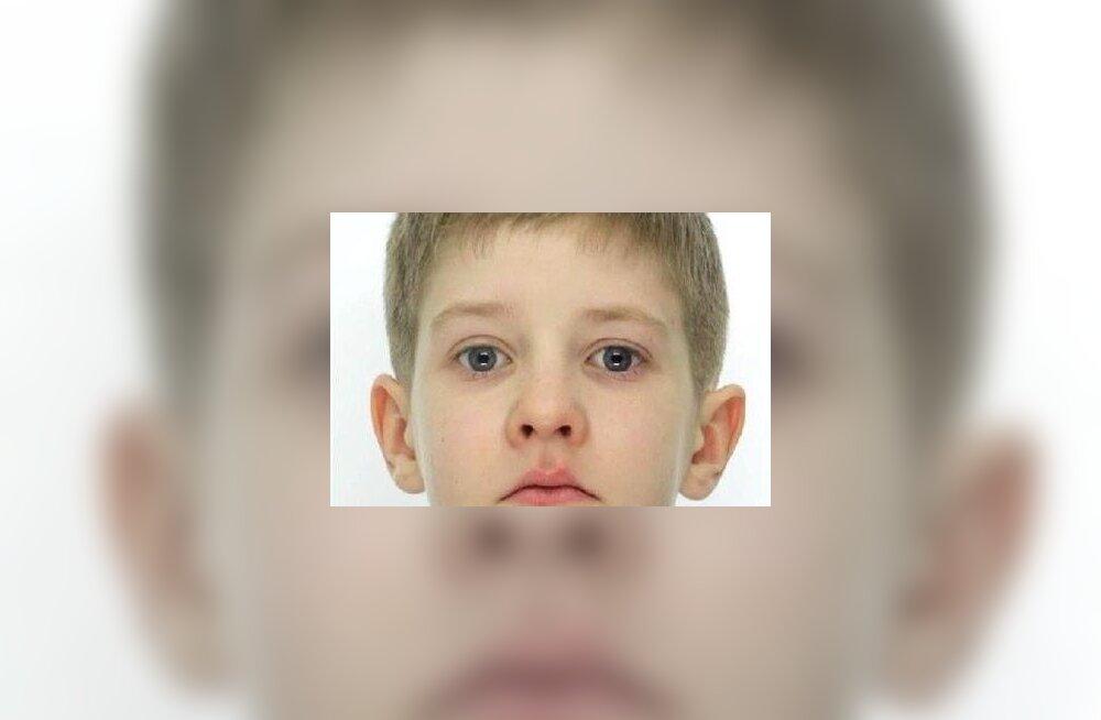 ФОТО: Полиция нашла разыскиваемого 8-летнего мальчика, с ним все в порядке