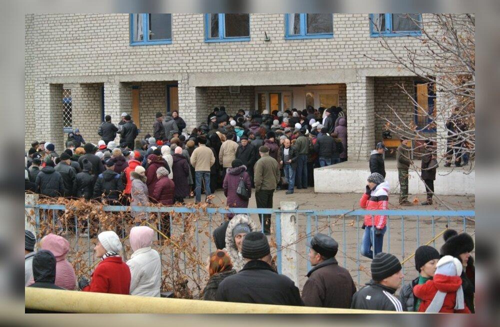 """""""Valimised"""" Ida-Ukrainas"""