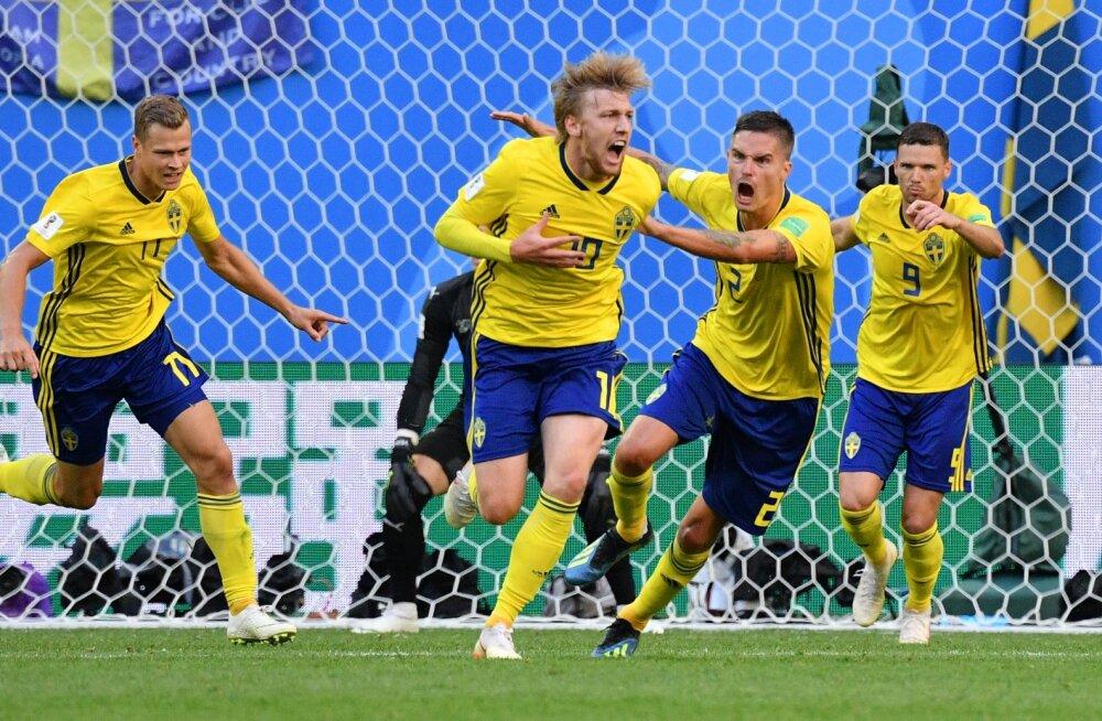 BLOGI   Rootsi alistas Šveitsi ning on kaheksa parema hulgas!