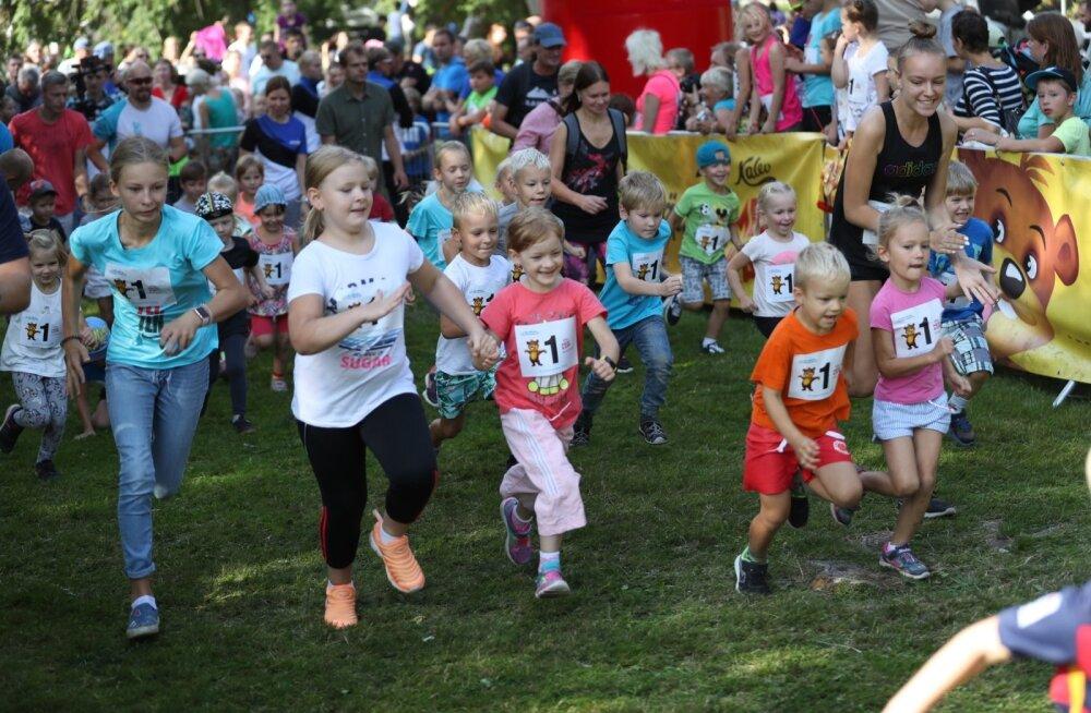 БОЛЬШАЯ ГАЛЕРЕЯ: Детские забеги Таллиннского марафона