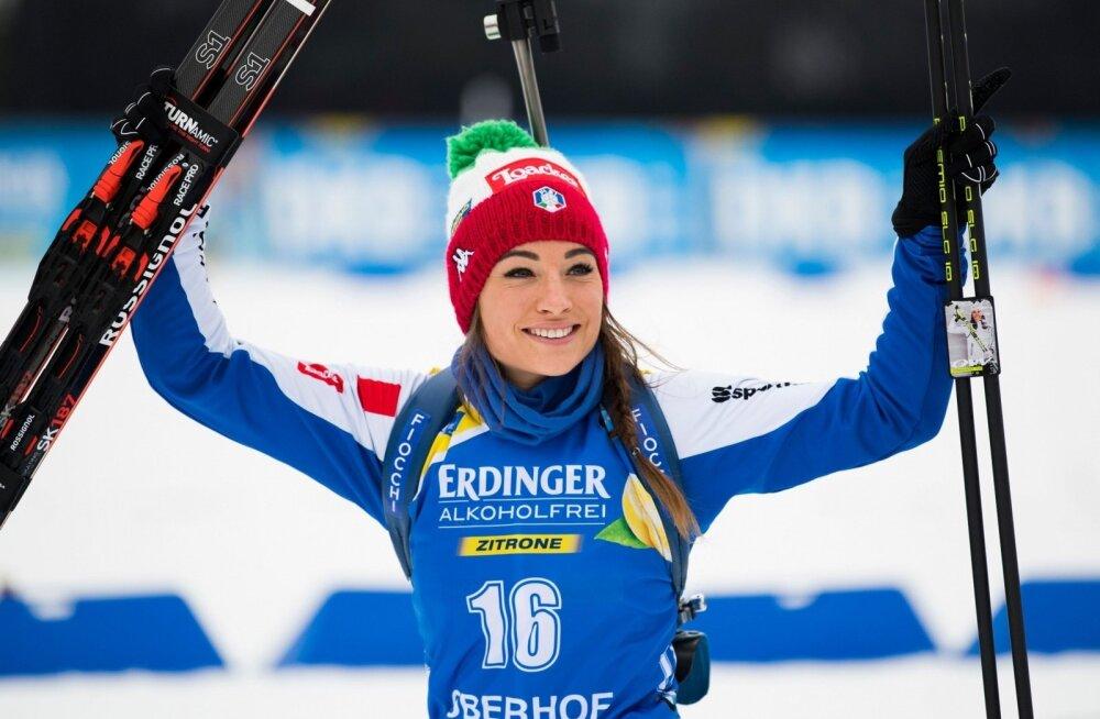 Dorothea Wierer.