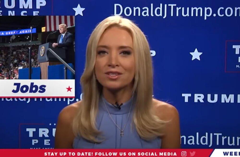 VIDEO   CNN-ist lahkunud telenägu liitus Trumpi tiimiga ja edastab ainult positiivseid uudiseid