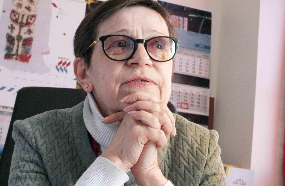 ИНТЕРВЬЮ: Директор Силламяэского музея Аала Гитт — о дружбе с Лембитом Ульфсаком, о случае, сделавшем её художницей