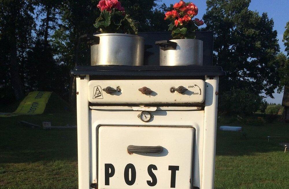 FOTOD | Eesti ilusaimaks postkastiks pärjati omanäoline pliit-postkast