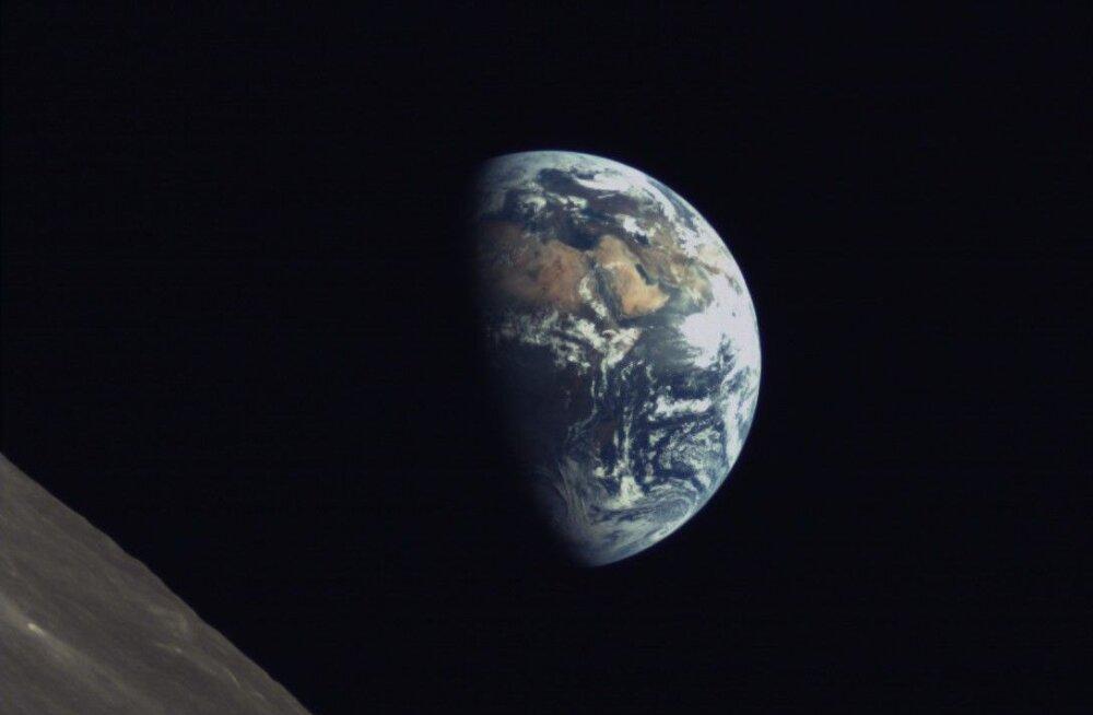 Värske klõps kosmosest! Hiina satelliit tegi Maast ja Kuust kauni pildi
