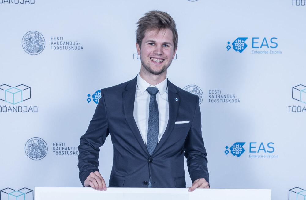 eAgronomi looja Robin Saluoks pälvis aasta noore ettevõtja tiitli