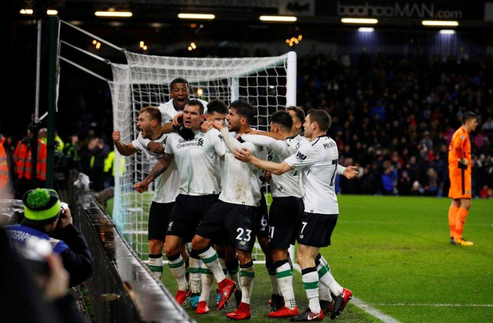 Klavan ja Liverpool juubeldavad