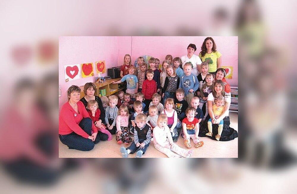 Vana-Vigala lasteaed 1968 – 2012…: Täna toovad lasteaeda oma lapsi juba kunagised kasvandikud