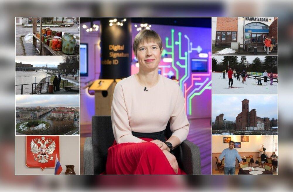 Ladõnskaja presidendi Narva kolimise plaanist: Kuu aega on viisakas aeg, mille jooksul on hea tahtmise korral võimalik näha paljut ja saada teada peidetud asju