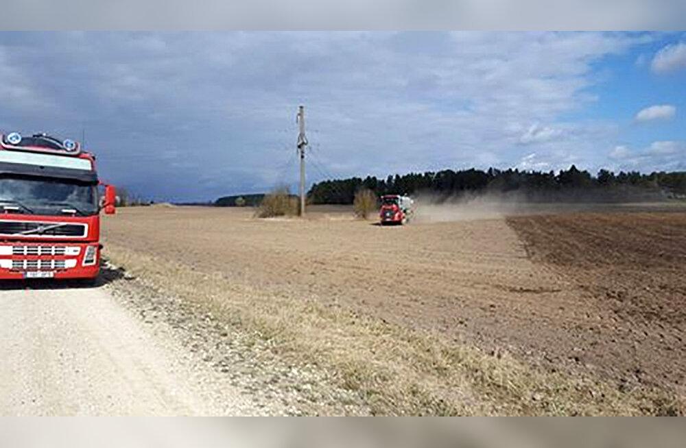 Aasta põllumehe päevik   Hernest ja uba me ei külva, küll aga rapsi ja maisi
