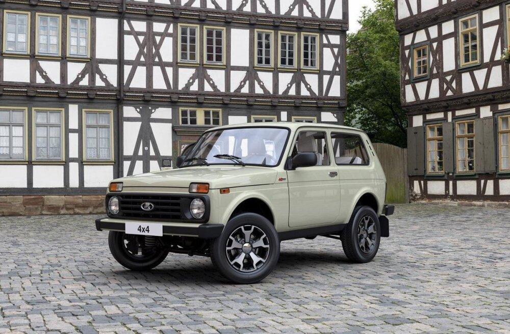 Uus Lada 4×4 on küll Eestis müügil, kuid esialgu vaid entusiastide toel